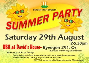 SUMMER PARTY POSTER 2015