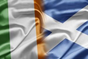 irishscottish flag
